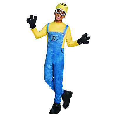 Minion Dave Halloween Costume Child Kid Boy S M L Despicable Me 3 - Kid Minion Halloween Costume