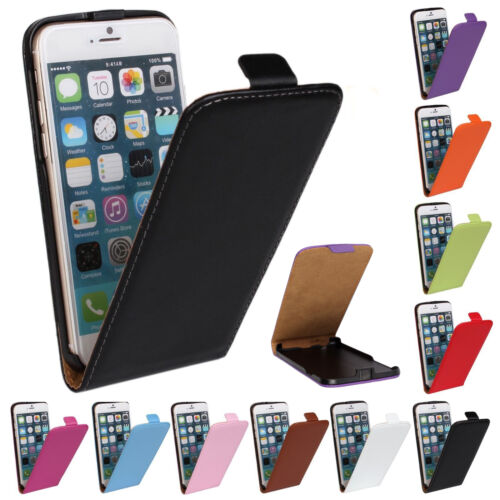 Magnetic Vertical Flip PU Leather Case Cover For Various Samsung Galaxy Phone