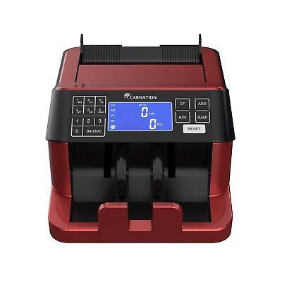 Counterfeit Money Bill Counter Detector Magnetic Metallic Thread Size Uv