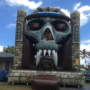 Scary Masters Tomb Jumping Castle Coomera Gold Coast North Preview