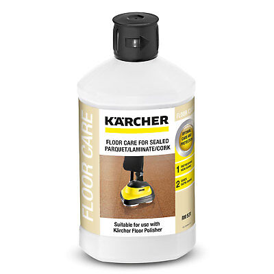 Karcher FLOOR CLEANER FOR SEALED PARQUET/LAMINATE/CORK 1L Gives Semi-Matt Shine for sale  Shipping to South Africa