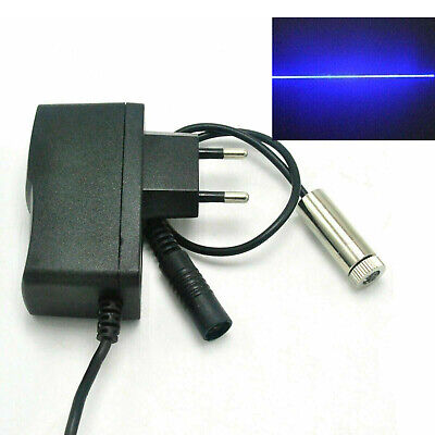 Focusable 445nm 450nm 50mw Blue Line Laser Lazer Diode Lighting Module Wadapter