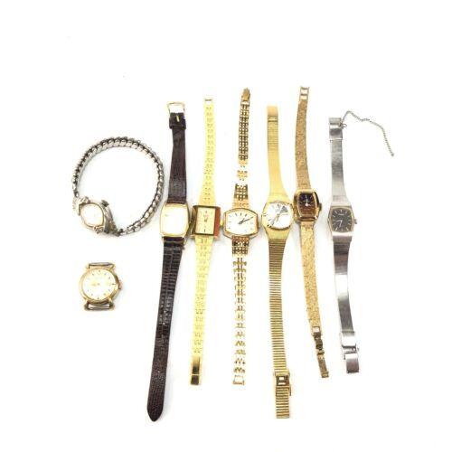 Vintage womens wristwatch lot mechanical and quartz