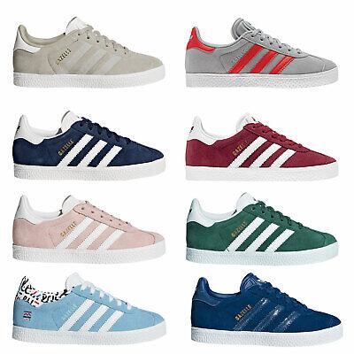 adidas Originals Gazelle Children Kinder-Sneaker Turnschuhe Halbschuhe Wildleder ()