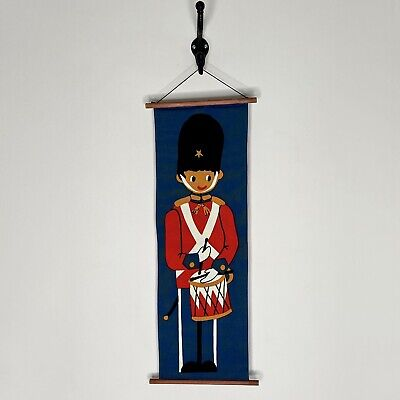 Vintage Christmas Toy Soldier Wall Door Hanging Home Decor