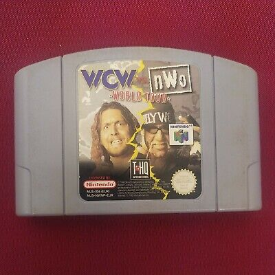 WCW vs nWo World Tour - Nintendo 64 N64 - Cartridge Only