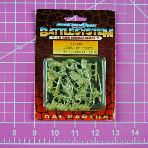 Ral Partha AD&D Battlesystem 15mm Lances of Cormyr 11-900 Dungeons & Dragons