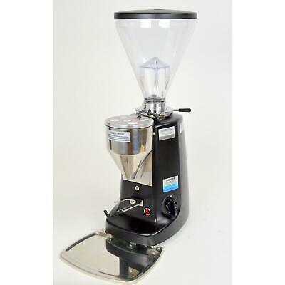 Mazzer Super Jolly Electronic Espresso Grinder Black 64mm Flat Burrs Used