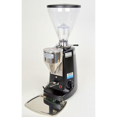 Mazzer Super Jolly Electronic Espresso Grinder Black 64mm Flat Burrs Used