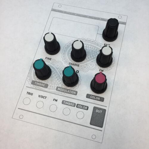 NEW Original Mutable Instruments Knobs - Braids Set - Custom Color Rogan D-Shaft