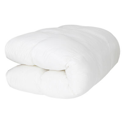 Queen Size Mattress Pad Cover Memory Foam Luxury Bed Pillow Top Thick Topper
