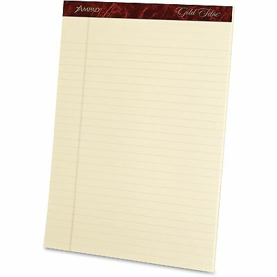 Tops Products Legal Pads 20 Lb. Legal Ruled 8-12x11-34 4pk Ivory 20011