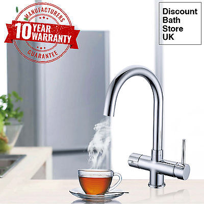 Instant Hot / Boiling Water Kitchen Tap 3 in 1 Cold / Hot Water & Heating Unit