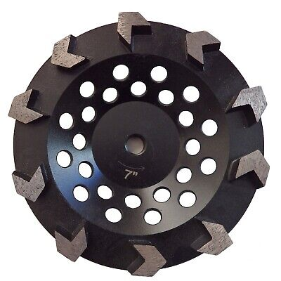 7 Arrow Cup Wheel For Coating Removal Grinding Concrete Prep 58-11 Threaded