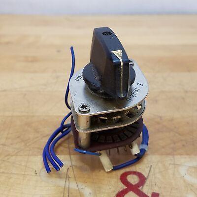5 Pcs Band Switch Rotary Switch Gear Change Switch 2 Pole 4 Position RS1010-la
