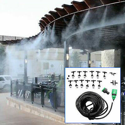 Outdoor Misting System Patio Mist Cooling Mister Kit Air Cooler Pool Deck Mini