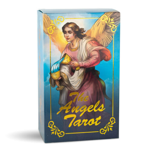 The Angels Tarot Cards Deck by Da Brigh Angelic Angelical De Angeles Angel