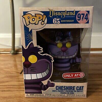 Funko Pop Cheshire Cat Target Exclusive #974 Disneyland 65th Alice Wonderland