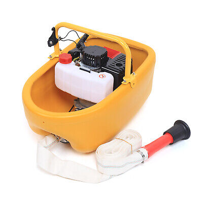 52cc Water Transfer Pump 2 Stroke Gasoline Irrigation Boat Suction Pump 1.5 In