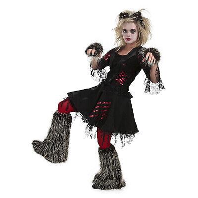 Adult Women's Howlette Werewolf Wolf Halloween Costume Furry Dress S M L Plus](Wolf Woman Halloween Costume)
