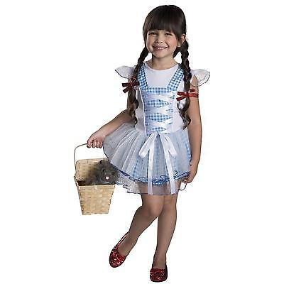 Girls Wizard of Oz Dorothy Costume Blue White Dorthy Fancy Dress Kids Child - Dorothy Costume Child