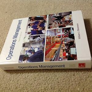 Operations management, twelfth edition. William J. Stevenson Highgate Hill Brisbane South West Preview