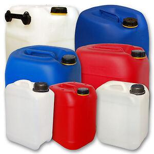Bidon 5 litres et 3 litres