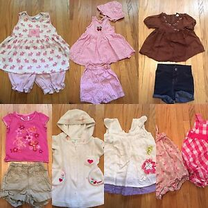 Girls clothing 12, 18 and 24 months
