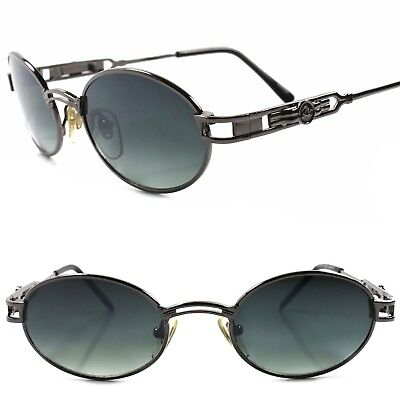 Old stock True Vintage 50s 60s Urban Hip Hop Swag Fashion Metal Oval Sunglasses
