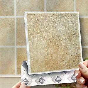 New  PeelnStick Tile Backsplash Bathroom Wall Tiles 10 Pieces 95 SqFt