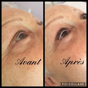 Rehaussement & extension cils