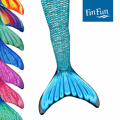Adult Size Fin Fun Mermaid Tail Skins for Swimming, Swimmable, No Monofin (Mermaid Swimsuit For Adults)