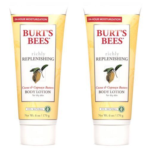 Burt's Bees Naturally Nourishing Milk & Honey Body Lotion, 6