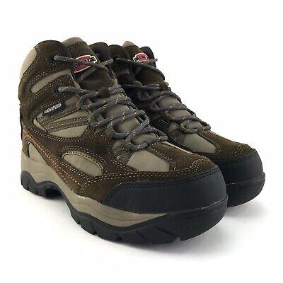 Iron Age Mens IA5725 Highridge Industrial & Construction Steel Toe Boots Sz 11 W