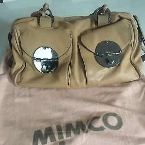 Mimco Turnlock bag colour sand  preloved Hawthorn Mitcham Area Preview