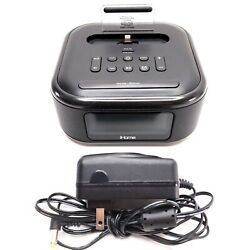 iHome (iPL23) Stereo FM Clock Radio with Lightning Dock for iPhone/iPod, Clean!
