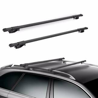 Top Car Roof Rack Cross Bars 1230mm Luggage Cargo Carrier Rails