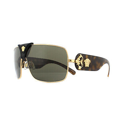 Versace Sunglasses VE2207Q 1002/3 Gold Brown