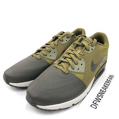 be5f3b7a30 Nike Air Max 90 Ultra 2.0 SE 876005-300 Men's 12 Cargo Militia Running Shoes