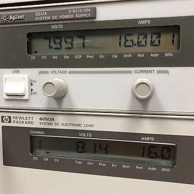 Hp Agilent Keysight 6641a Dc Power Supply 0-8v 0-20a 160w