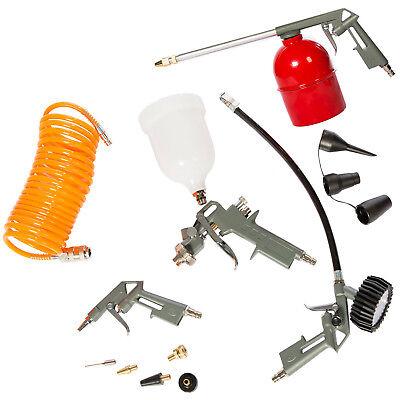 Druckluft Set - 13tlg Druckluft für Kompressor Reifendruck Sprühpistole