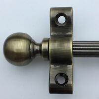 Set Di 13 1cm Antico Sfera In Ottone Ornamento Terminale Scala Aste Asta R02reb -  - ebay.it