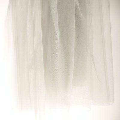 Hell Grau Weich Tüll Kleid Stoff 150cm Breit - pro Meter - Ausgezeichnet