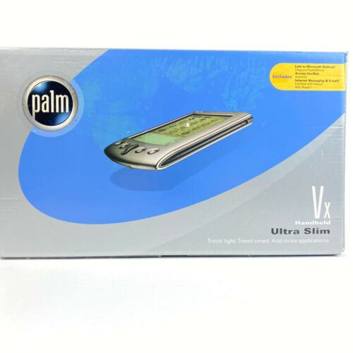 PALM VX HANDHELD ULTRA SLIM EDITION RARE - NEW Open BOX - BAD Battery