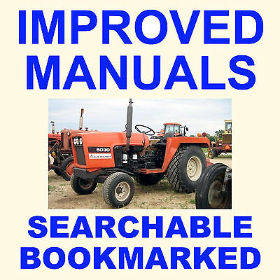 Allis Chalmers Ac 5030 5020 Tractor Tractors Maintenance Repair Service Manual