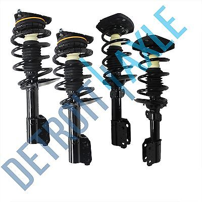 All 4 Brand New Front  Rear Complete Strut Spring Coil  Mount Assemblies