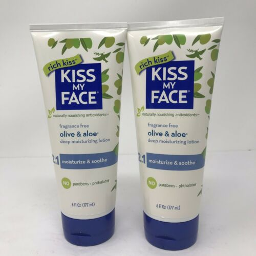 Kiss My Face Ultra Moisturizer Olive And Aloe Fragrance Free
