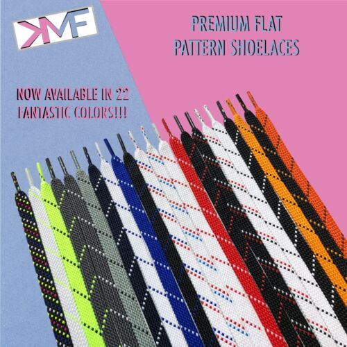 FLAT PATTERN PREMIUM SHOELACES AWESOME REPLACEMENT LACES BUY 2 GET 1 FREE