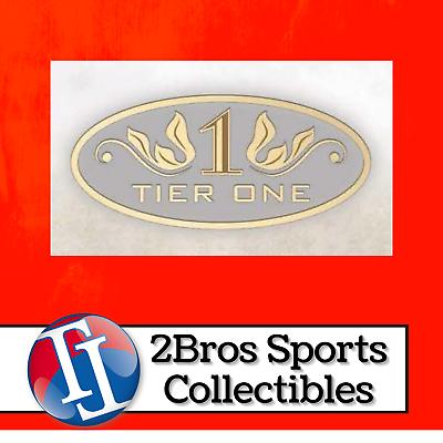 2021 Tier One Baseball 12 Hobby Box Full Case Break 5/5 5pm CST - Athletics - $51.00
