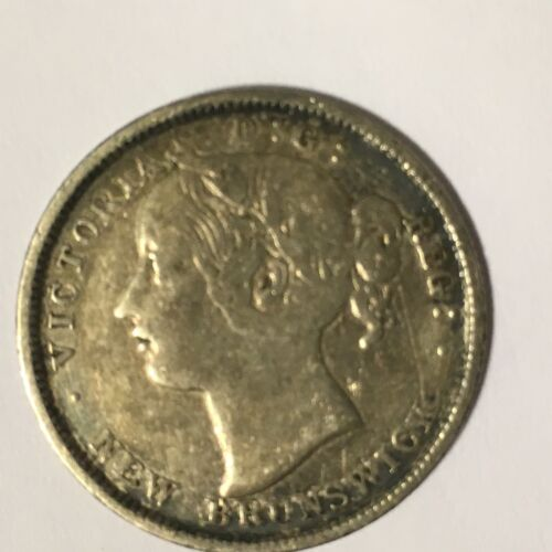 1862 New Brunswick 20 cents VF-